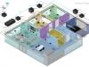 Command Fusion - Przykładowy schemat - kondygnacja 2